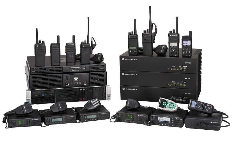Some of our Motorola radios near Wasilla, AK