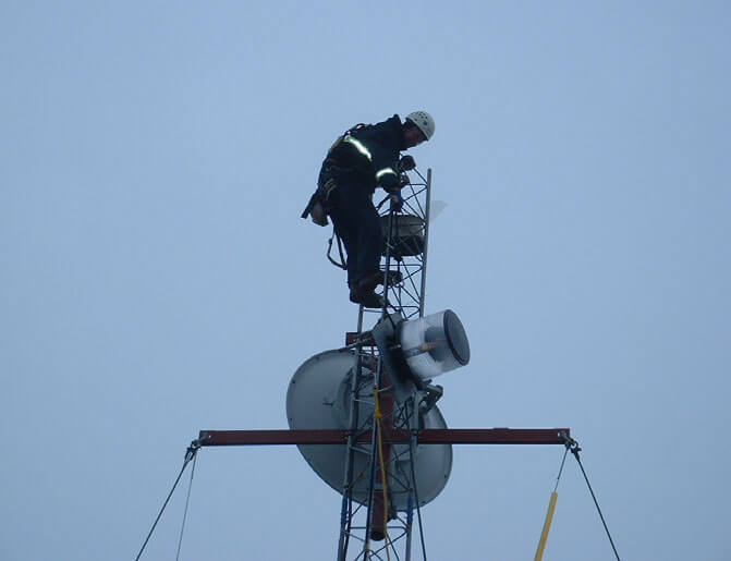 Oooguruk Island Telecommunications System