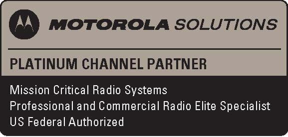 Motorola Solutions Platinum Channel Partner badge